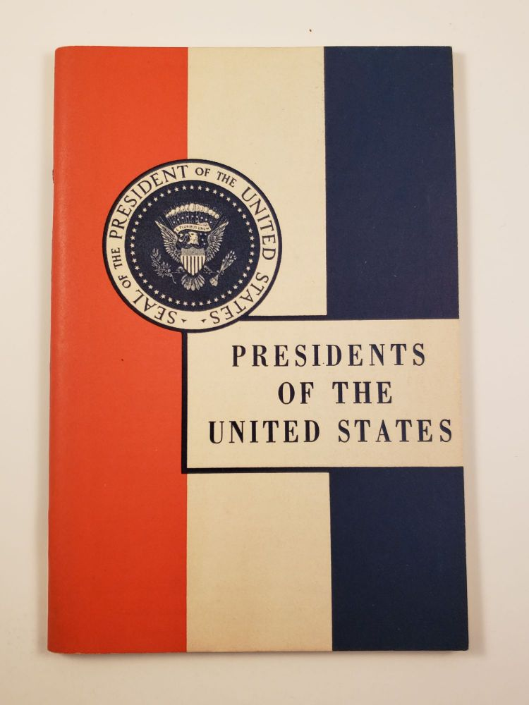 Presidents of the United States. John Hancock Booklets.
