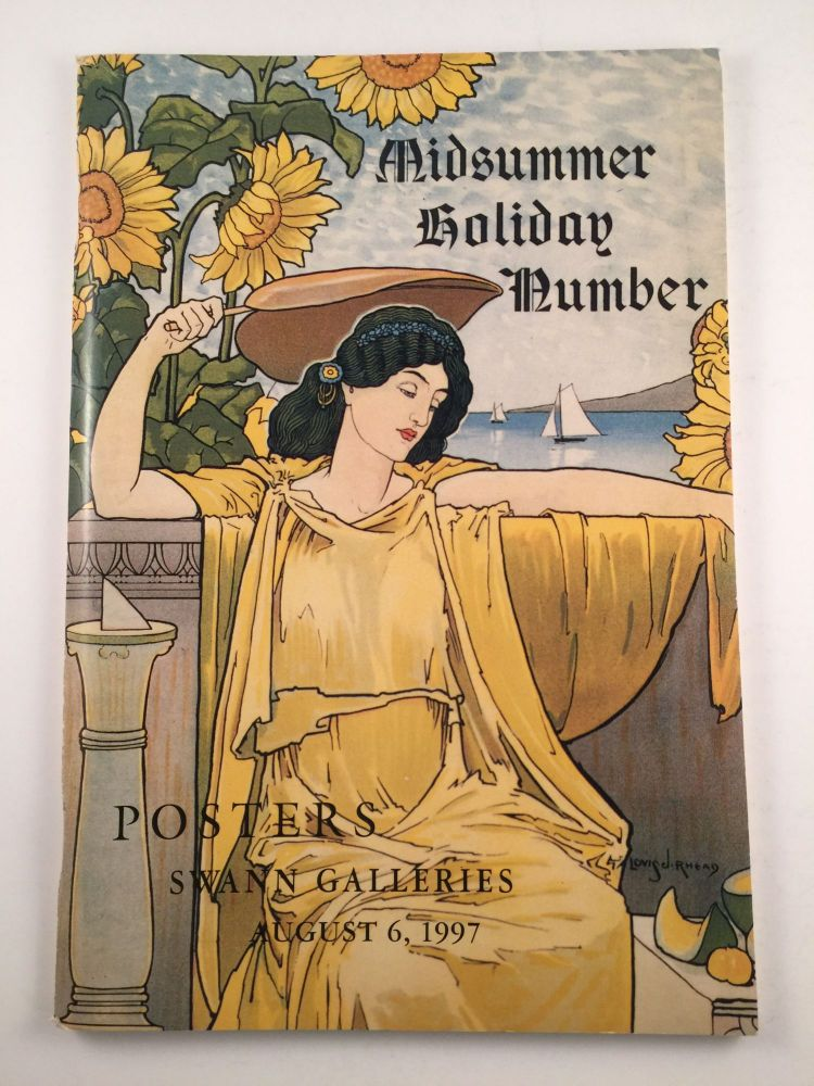 Midsummer Holiday Posters August 6, 1997. Swann Galeries.