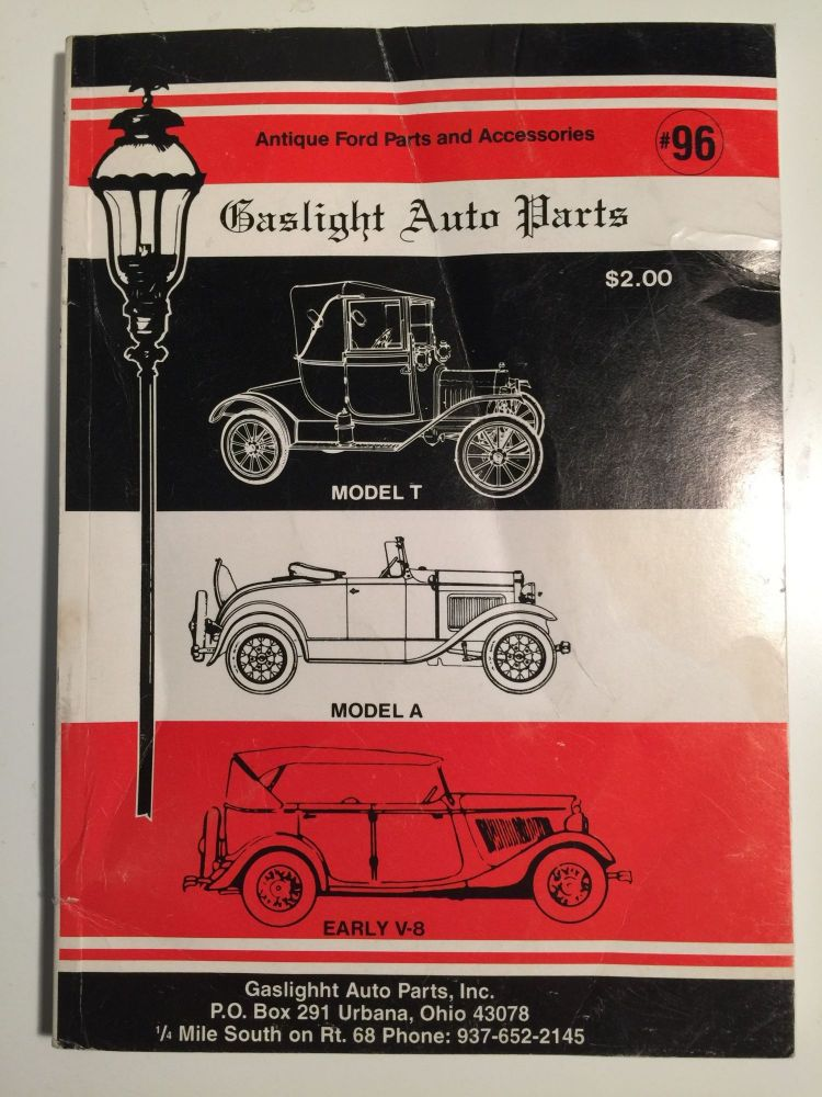 Gaslight Auto Parts Antique Ford Parts and Accessories | Inc ...