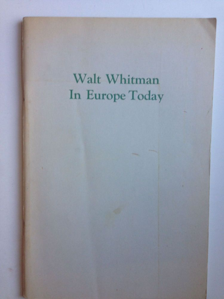 Compare And Contrast Essay Examples High School Walt Whitman In Europe Today A Collection Of Essays Supplement To The Walt  Whitman Review  Roger Asselineau William White Example Of English Essay also Topics For An Essay Paper Walt Whitman In Europe Today A Collection Of Essays Supplement To  Health Promotion Essays
