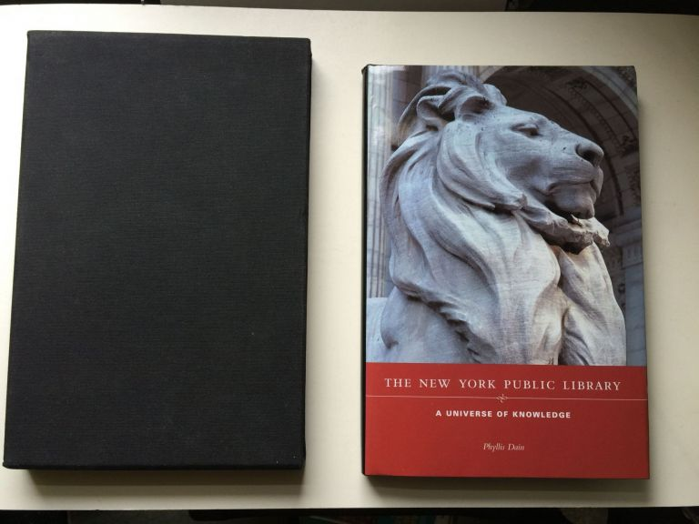 The New York Public Library: A Universe of Knowledge. Phyllis Dain.