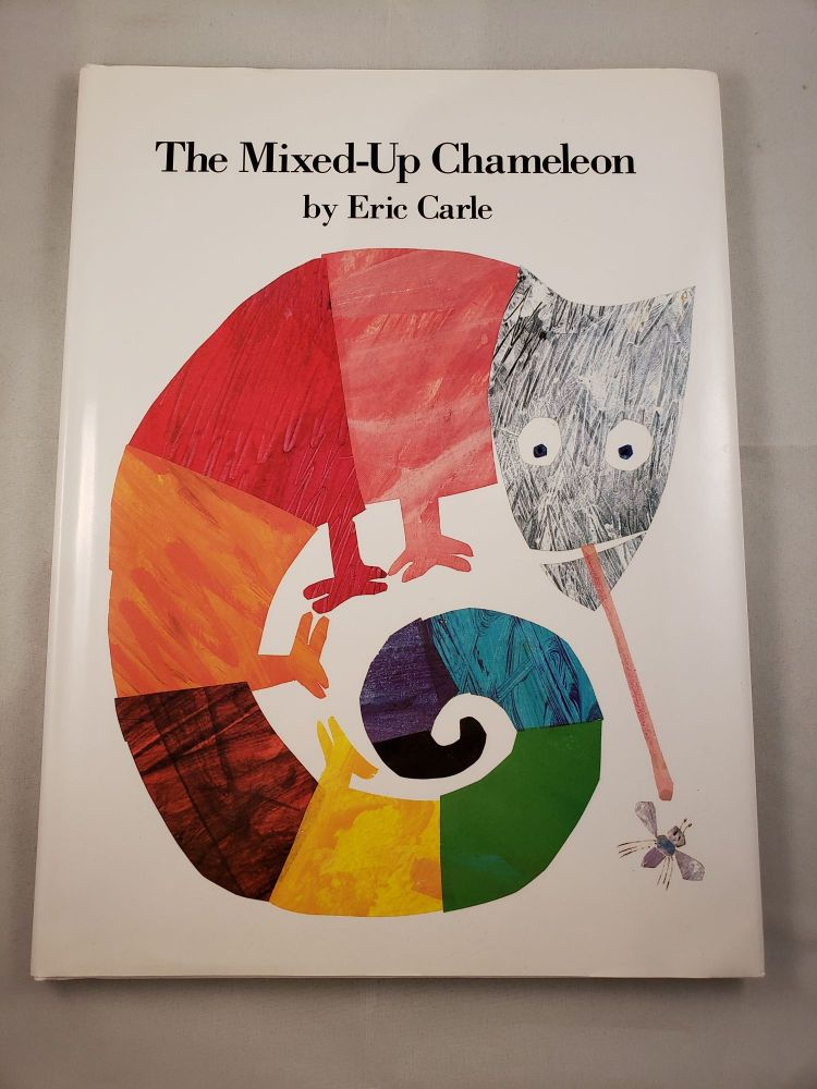 The Mixed-Up Chameleon. Eric Carle.