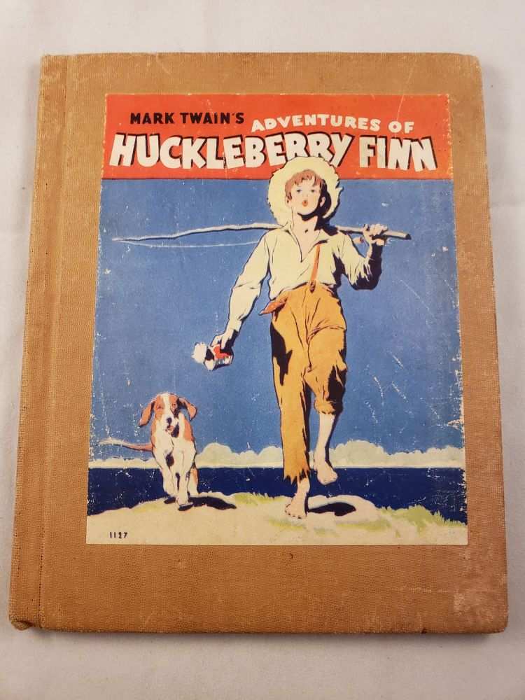 Mark Twain's Huckleberry Finn Tom Sawyer's Comrade. Mark Twain, Henry E. Vallely.