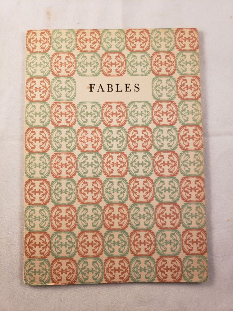 Five or More Fables. Clarice Hamill, Alfred E.