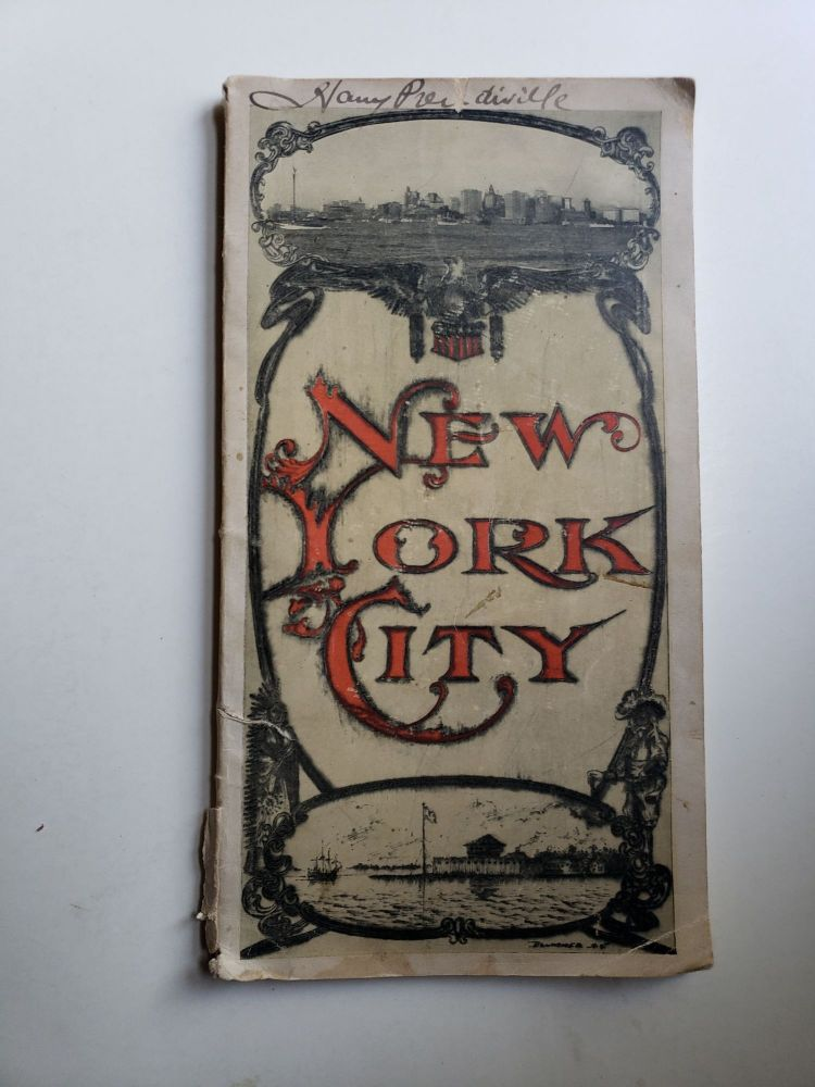 Visitors' Guide to New York City and Directory of Leading Hotels. New York American System of Information Bureaus.