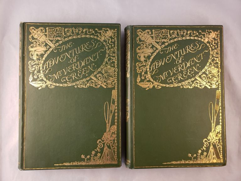 The Adventures of Mr Verdant Green An Oxford Freshman With 100 Illustrations By the Author 2 Volumes. Cuthbert Bede.