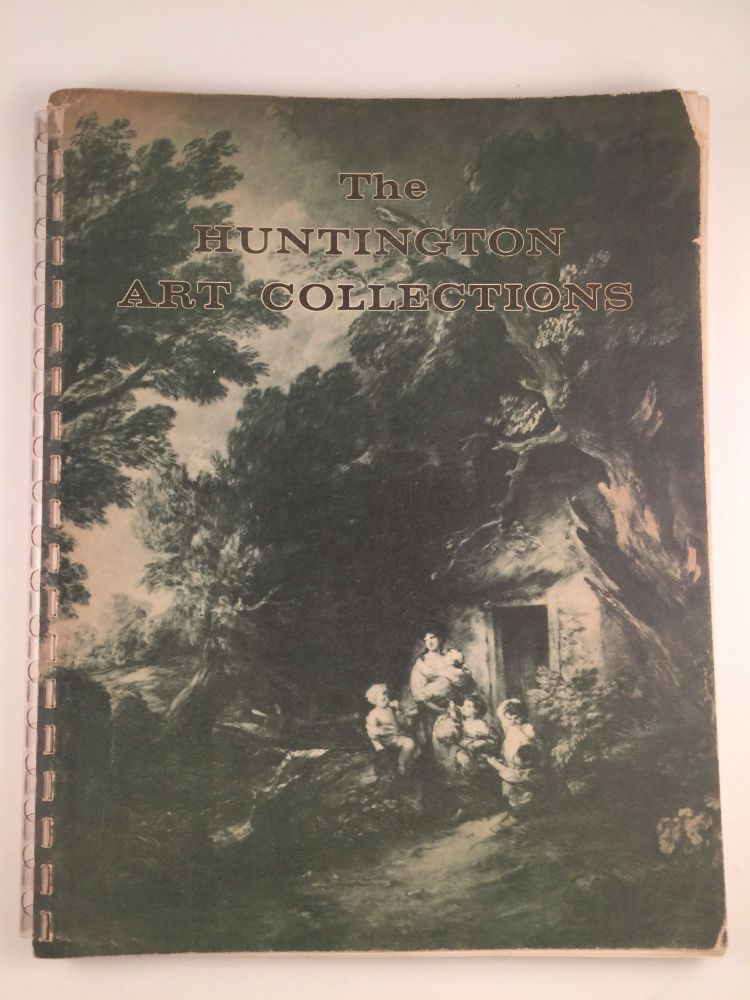 Handbook of the Art Collections of Henry E. Huntington Library & Art Gallery. Maurice Block.