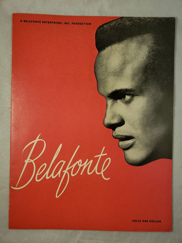 Belafonte with Miriam Makeba Program. Belafonte Enterprises.