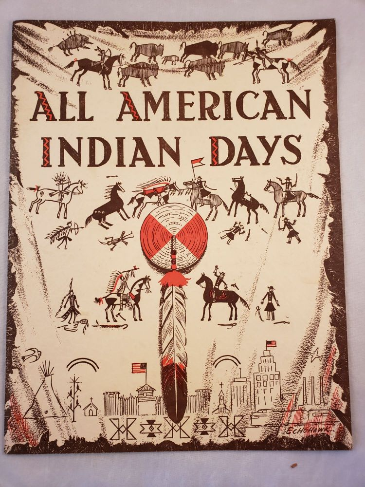 All American Indian Days August, 1956.