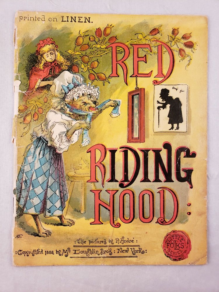 Red Riding Hood (Little Folks Series). R. Andre.