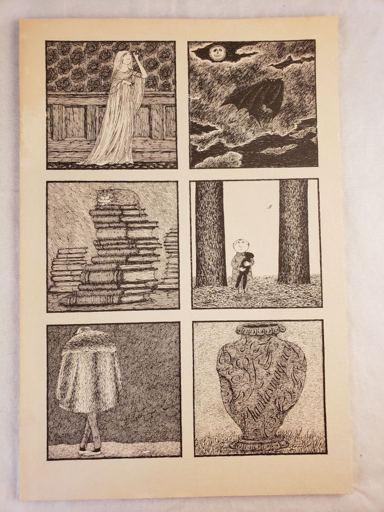 Phantasmagorey The Work of Edward Gorey Exhibition Catalogue Sterliing Memorial Library, Yale University April 17 - September 27, 1974. Clifford Ross, Dale R. Roylance.