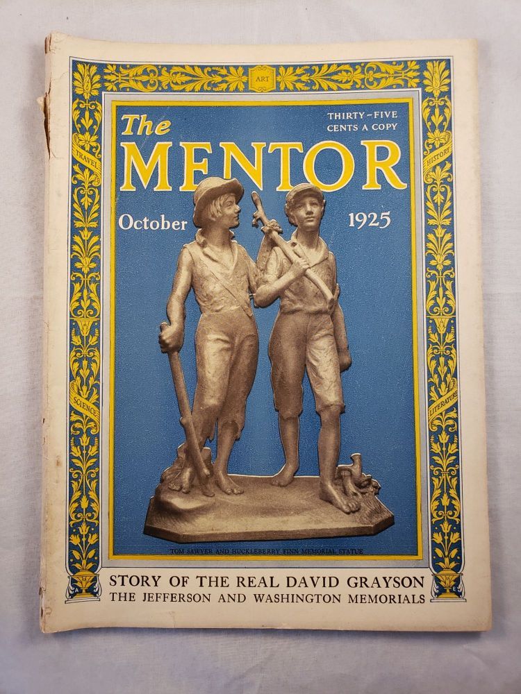 The Mentor, October 1925 Vol. 13, No. 9. W. D. Moffat.