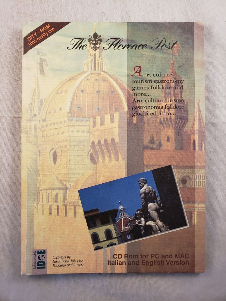 The Florence Post Art culture tourism gastronomy games folklore and more. n/a.
