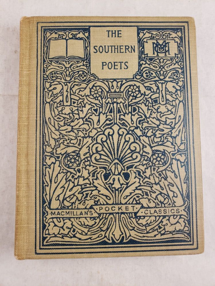 Selections From The Southern Poets. William Lander selected and Weber.