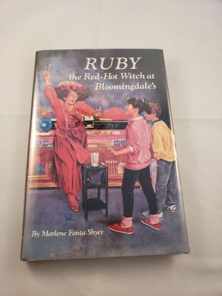 Ruby the Red-Hot Witch at Bloomingdale's. Marlene Fanta Shyer.