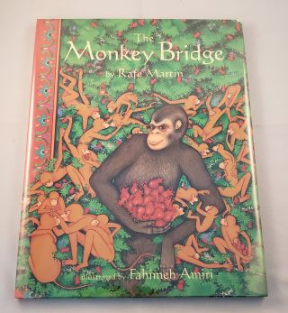 The Monkey Bridge. Rafe and Martin, Fahimeh Amiri.
