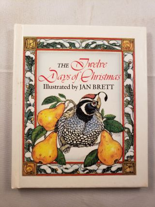 The Twelve Days of Christmas. Jan Brett