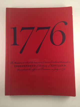 1776 The British Story of the American Revolution. 14 April to 2 October Greenwich: National...