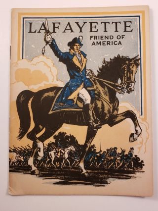 Lafayette Friend of America. John Hancock Booklets