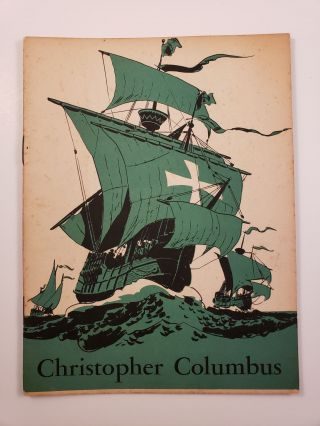 Christopher Columbus Discoverer of America. John Hancock Booklets