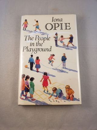 The People in the Playground. Opie Iona
