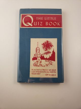 The Little Quiz Book. Henry R. Martin
