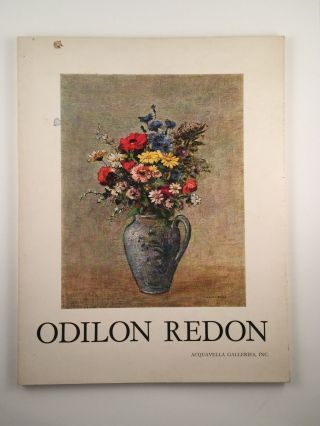 Odilon Redon Loan Exhibition for the Benefit of Lenox Hill Hospital, Oct. 22 to Nov. 21 New York:...