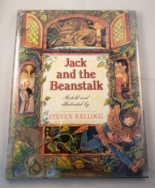 Jack and the Beanstalk. Steven Kellogg.