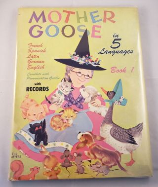 Mother Goose In 5 Languages. Book 1. N/A