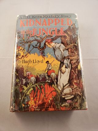 Kidnapped in the Jungle: Hal Keen Mystery Story #2