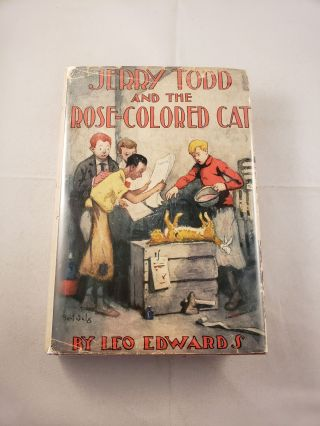 Jerry Todd And The Rose-Colored Cat. Leo Edwards, B. N. Salg