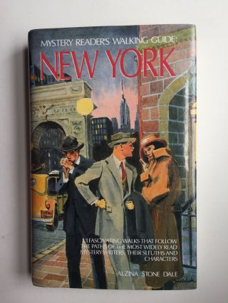 Mystery Reader's Walking Guide : New York. Alzina Stone and Dale, Kenneth Daly