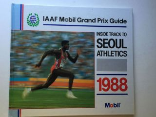 IAAF Mobil Grand Prix Guide Inside Track To Seoul Athletics. Peter Matthews