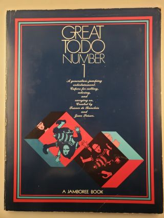 Great To-Do Number 1 A generation -jumping entertainment. Capers for cutting, coloring, and...