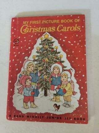 My First Picture Book of Christmas Carols. Mary McCain