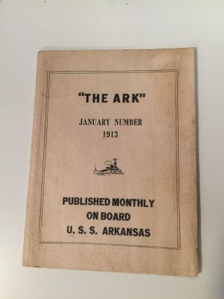 The Ark Volume II Number II 1913. Owen Moore