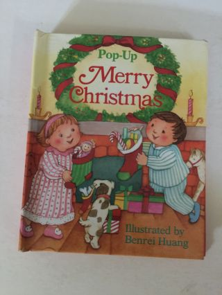 Pop-Up Merry Christmas. Benrei Huang.