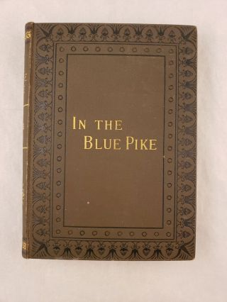In the Blue Pike A Romance of German Civilization At The Commencement Of The Sixteenth Century