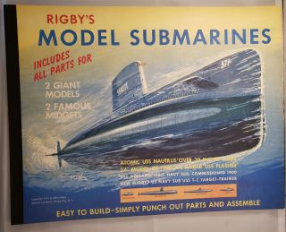 Rigby's Model Submarines. Wallis Rigby.
