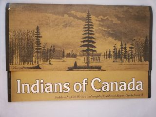 Indians of Canada Jackdaw No. C16. Edward Rogers