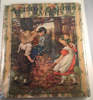 A Child's Garden of Verses. Robert Louis and Stevenson, Clara Burd