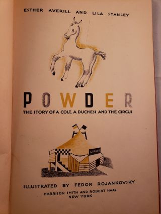 Powder The Story of a Colt, a Duchess and the Circus