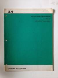 1401 DPS-Basic Programming Autocoder Intermediate Examinations Programmed Instruction Course. IBM