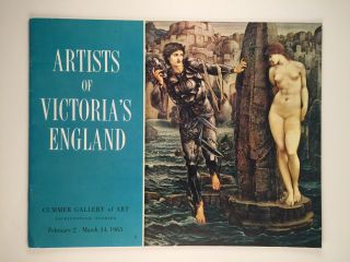 Artists Of Victoria's England. Feb 2 -March 14 Jacksonville. Cummer Gallery of Art, 1965
