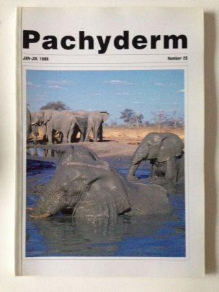 Pachyderm Number 25 January - July 1998. Greg Overton