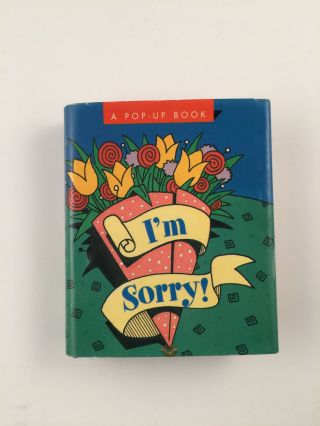 I'm Sorry A Pop-Up Book. Tara Ann McFadden, Chris Reed.