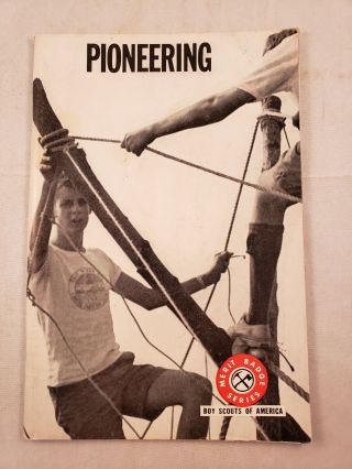 Pioneering. Boy Scouts of America