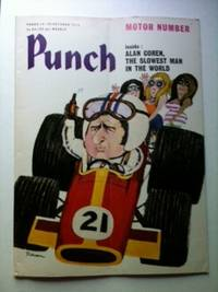 Punch MOTOR NUMBER Inside: ALAN COREN THE SLOWEST MAN IN THE WORLD 14-20 October 1970. William Davis.