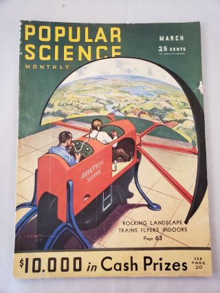 Popular Science Monthly March, 1932