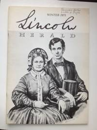 Lincoln Herald: Winter 1975 Volume 77, No. 4. R. Gerald McMurtry